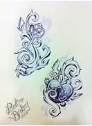 Sister tattoos  Design and I love on Pinterest  Lock And Key Matching Tattoo Designs