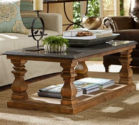 pottery barn coffee tables sutton coffee table pottery barn