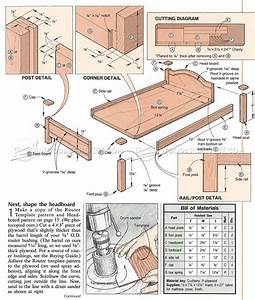 #1707 Doll Bed Plans • WoodArchivist
