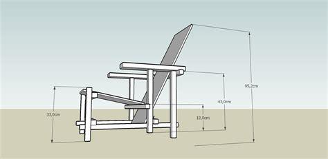 la chaise de rietveld pour le 11 novembre et le 16 novembre la chaise de