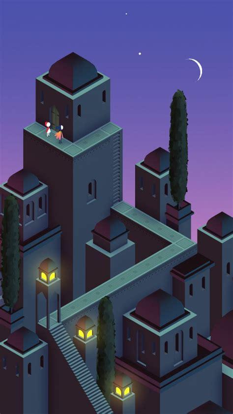 wallpaper monument valley   screenshot games