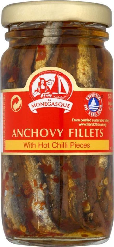 cuisine monegasque la monegasque anchovy fillets with chilli pieces 100g