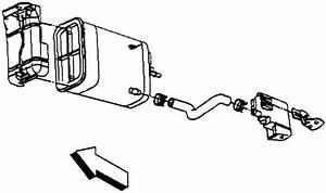 2001 Chevrolet Cavalier Evap Vent Removal