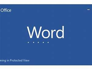 How To Disable Protected View In Microsoft Word