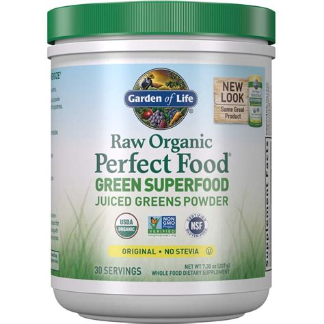 Garden Of Juiced Greens Powder by Garden Of Organic Food 100