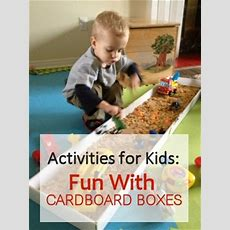 17 Best Images About Cardboard Box Projects For Kids On Pinterest  Maze, Learn To Count And Toys