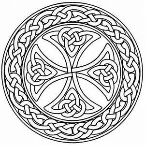 Mandala Monday - Free Celtic Mandalas to Color