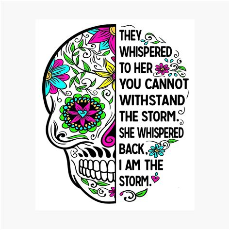 Free svg image & icon. They Whispered To Her You Cannot Withstand The Storm She ...