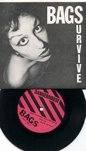 "BAGS - Survive 7"" kbd punk DANGERHOUSE SIGNED BY ALICE BAG ..."