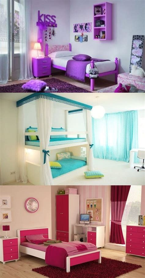 Cool Teen Girl?s Bedroom Decorating Ideas