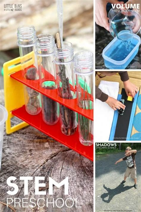 awesome preschool stem activities  bins