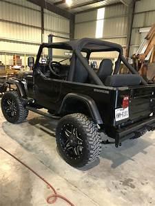 1987 Jeep Wrangler Suv Black 4wd Manual Laredo For Sale