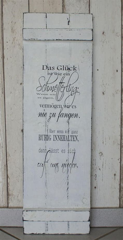 Shabby Chic Holz by Sign Wood Shabby Chic The Happiness Is Like A