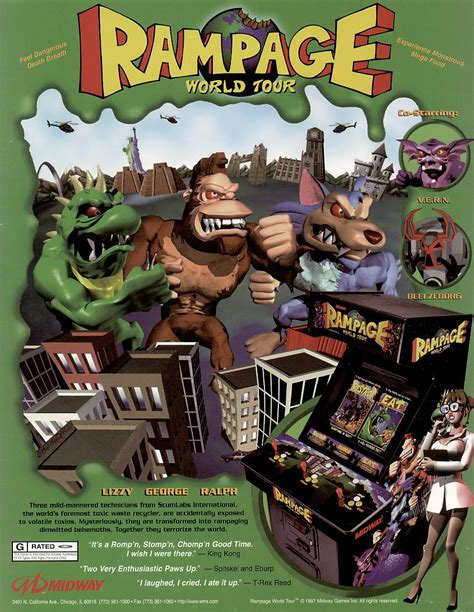 Rampage World Tour — Strategywiki The Video Game