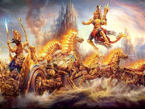 mahabharata wars   gods ghatotkacha