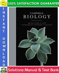 Campbell Biology  9th Edition Solutions Manual   Test Bank By Reece  Urry  Cain  Wasserman