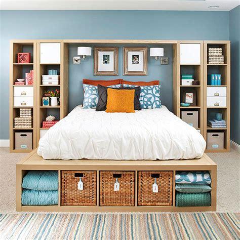 Clever Bedroom Storage Ideas, Bedroom Nightstand Ideas
