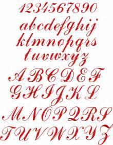 abc design test script letters alphabet images