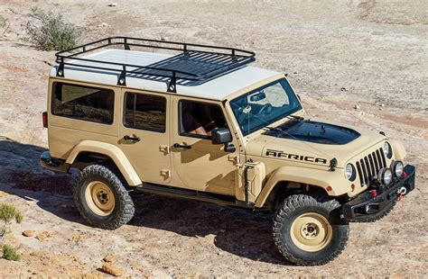 jeep wrangler africa photo  colossal jeep concepts  moab