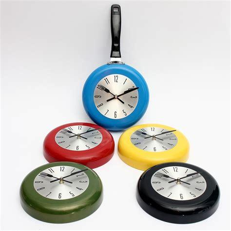 hot selling colorful kitchen wall clock metal wall clock