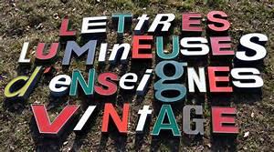 Enseigne Lumineuse Vintage : enseignes lumineuses des ann es 1970 80 bi res essence cigarettes ~ Teatrodelosmanantiales.com Idées de Décoration