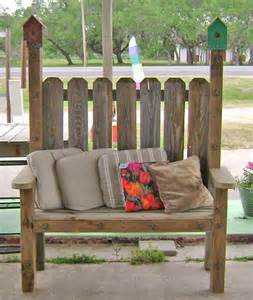 Benches From Repurposed Furniture