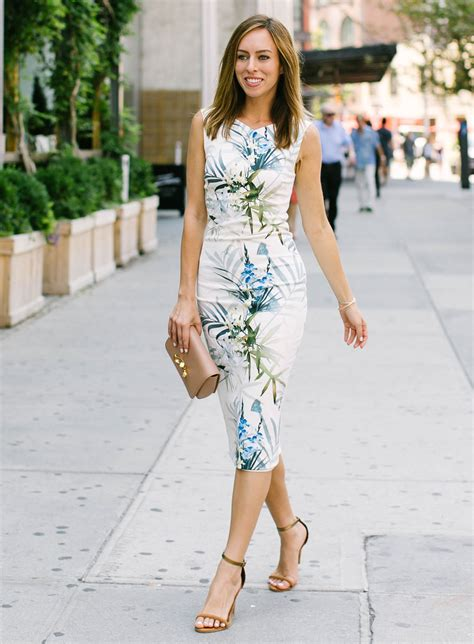 What Do I Wear To A Bridal Shower by Sydne Summer Wears A Ted Baker Floral Dress To A Bridal