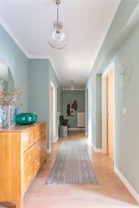 tendance couleur le vert de gris mademoiselle claudine With couleur de peinture pour une entree 7 peinture murs de mon entree salon cuisine