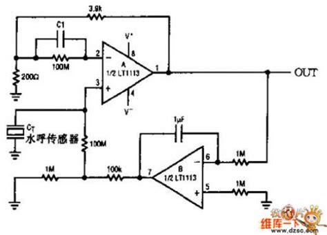 The Water Sound Sensor Application Circuit Signal