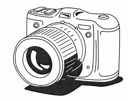 Coloring Lesson Camera Sheet Photographer Coloringsheet Sky