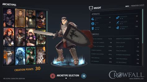 dungeon siege 2 crowfall throne war mmo erste interface konzeptbilder