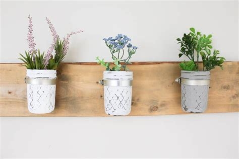 jar wall planter stylish wall planters you can buy or make yourself