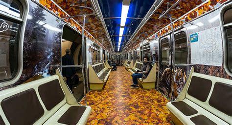 home interior grrrrrowl moscow metro debuts striped on