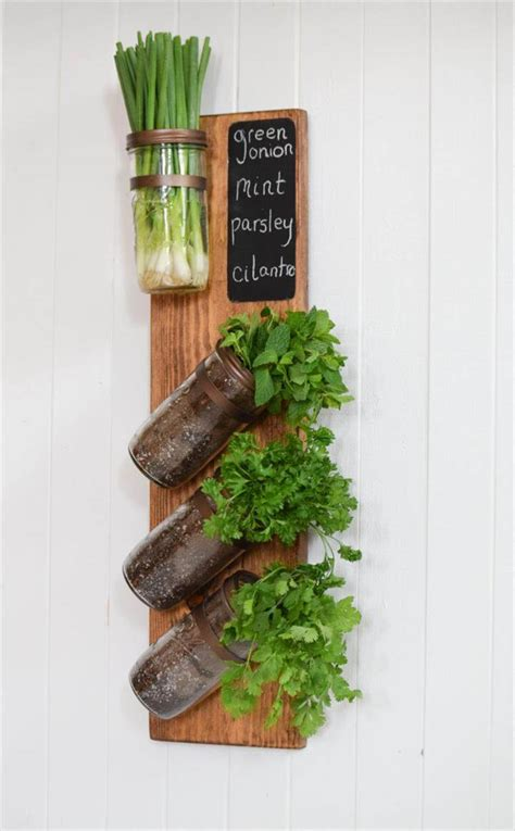 Jar Vertical Garden by 45 New Planter Ideas For Using Jars Diy To Make