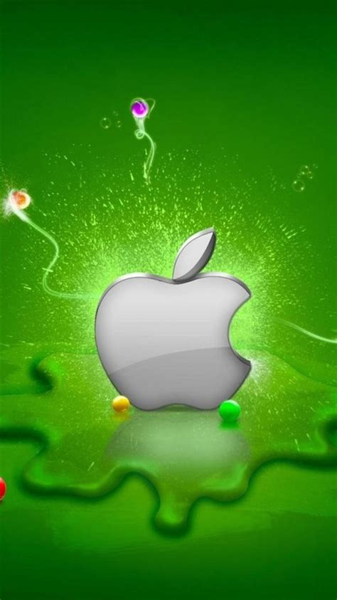 3d Hd Wallpapers For Iphone 6 by 3d Silver Apple Iphone 6 Wallpapers Hd
