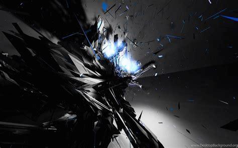 Cool Dark Abstract Backgrounds Feel Hearts Desktop