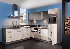 Nauhuricom billige kuchen mit elektrogeraten neuesten for Günstige winkelküchen