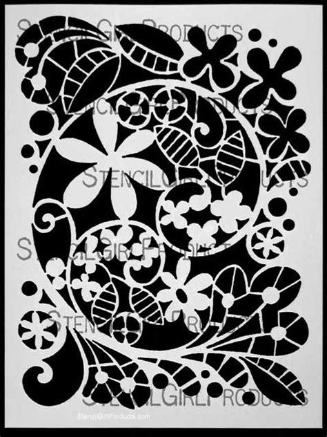Garden Swirl Stencil | Terri Stegmiller | StencilGirl Products