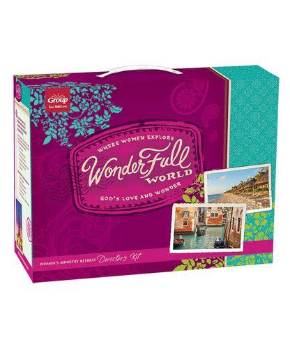 wonderfull world womens retreat kit christian womens