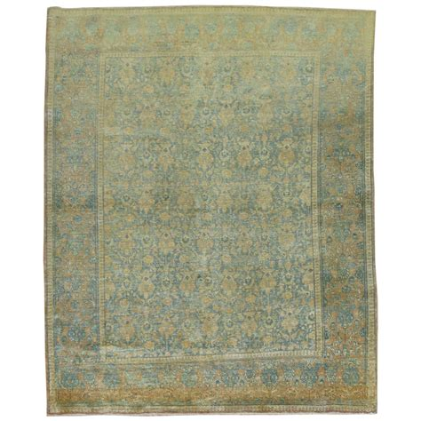 shabby chic rugs shabby chic antique tabriz rug for at 1stdibs