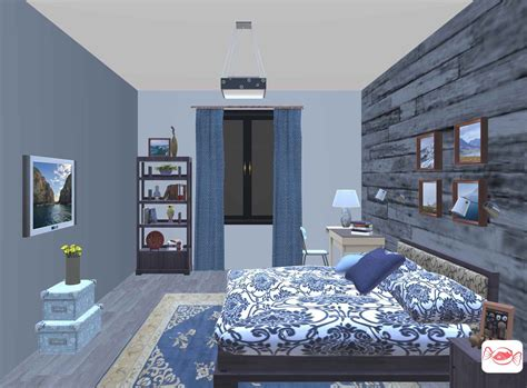 rustic bedroom design created  home sweet home  app