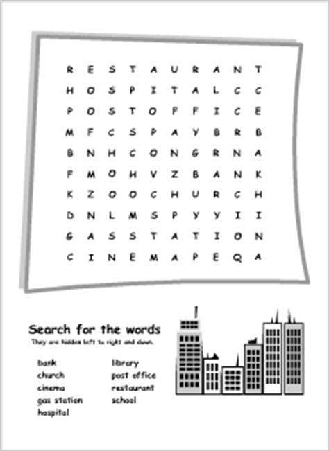 Boat Building Place Crossword by Wordsearch Puzzles Printables For Esl Teachers And
