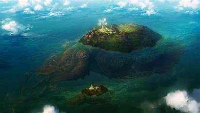 Wallpapers 1080p Fantasy Island Floating Imgur 1800