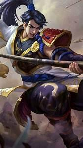 Zilong Skins Star 39Western Warrior ML Pinterest