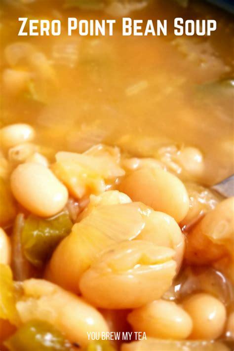 point crockpot bean soup recipe weight watchers