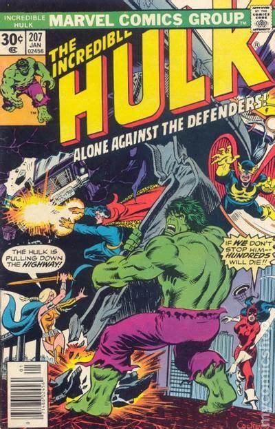 incredible hulk   st series comic books