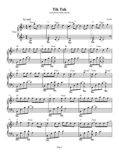 Tik Tok - Kesha | True Piano Transcriptions