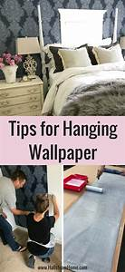 Tips for Hanging Bedroom Wallpaper Without Fighting ...