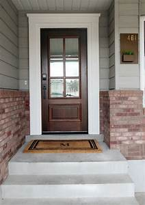 Before And After  Our New Front Door