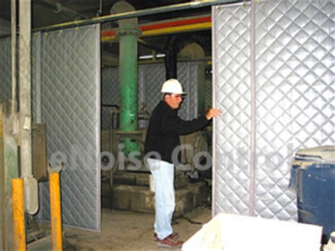 sound dening curtains industrial sound curtains industrial noise products